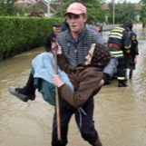 Flooding in Serbia
