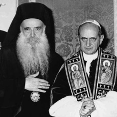 Pope Paul and Patriarch Athenegoras