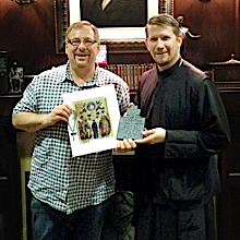 Rick Warren and Fr. John Parker